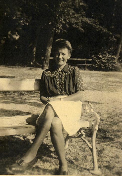 Maria Cäsar, 1946, Privatbesitz Maria Cäsar